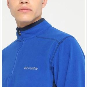 Men's Columbia Half Zip Fleece